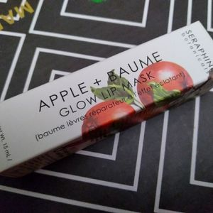 Seraphine botanicals apple and Baume glow lip mask